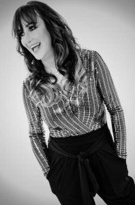 Radio presenter Gina McKie