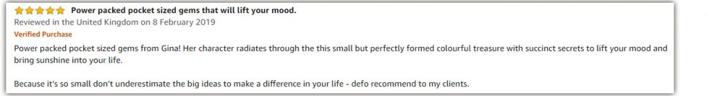 Imagination Amazon review